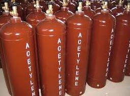 gas asetilena alkuna