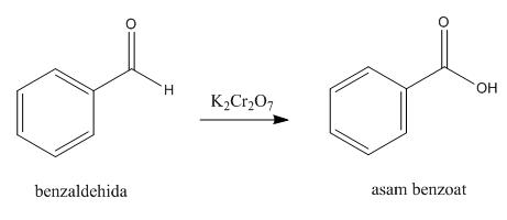 oksidasi benzaldehida asam benzoat