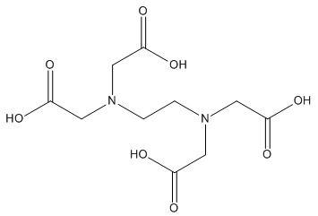 EDTA struktur rumus kimia
